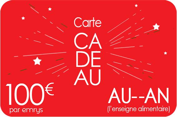 carte cadeau Auchan Emrys